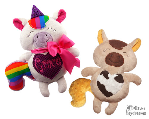 ITH Unicorn Horse Pony Stuffies