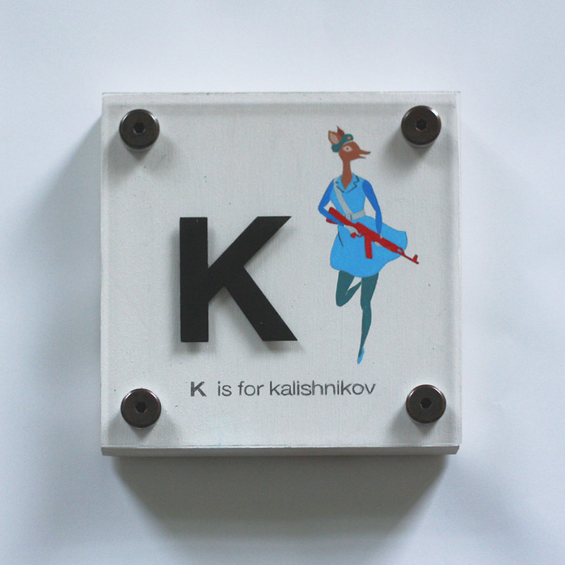 K IS FOR KALISHNIKOV