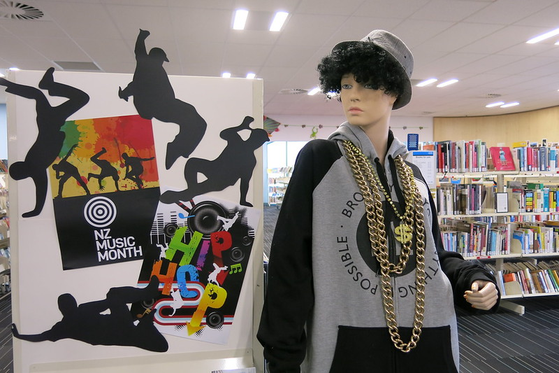 Hip Hop - NZ Music Month display