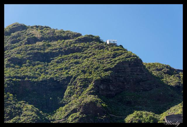Garachico roque piscinas naturales caleton - Casa en Garachico al borde del acantilado