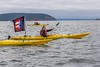 Small 800px Susannah with flag at Break Free PNW 2016 Photo taken by John Duffy 13064633_10210073440417573_3302267303188223420_o