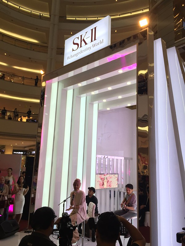 Sk-II with Yuna (GenOptics launch)