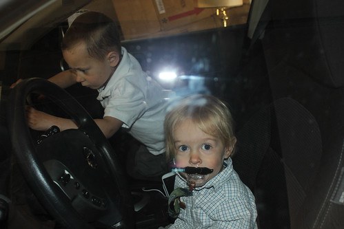 Gavin and Theo Take a Ride