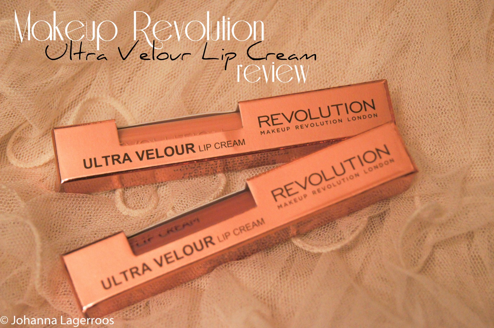 ultra velour lip cream packages