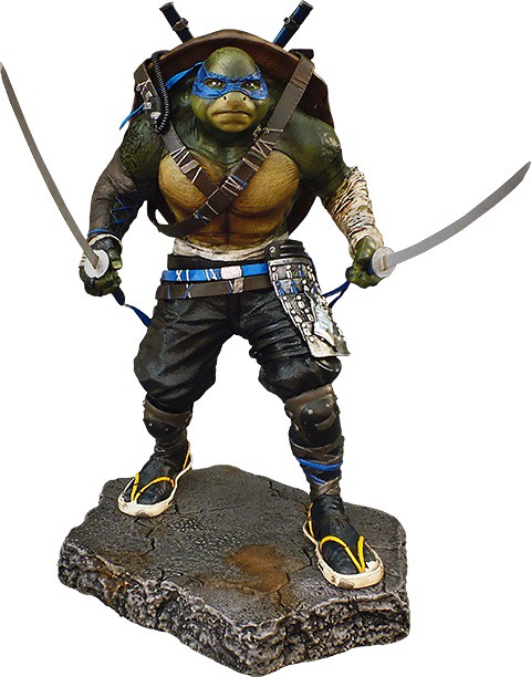 Vault Productions 忍者龜:破影而出【李奧納多】Leonardo 1/5 比例全身雕像作品