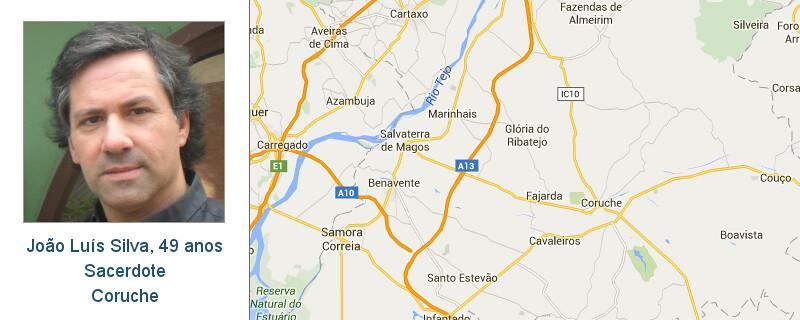 Mapa Google + foto - João Luís