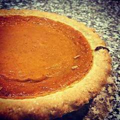 Pumpkin pieeeee! #pumpkin #pie #pumpkinpie #food #…