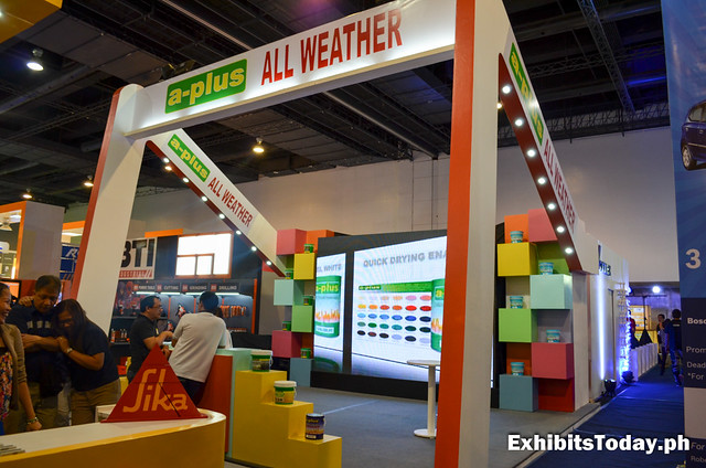 a-plus all weather exhibit booth