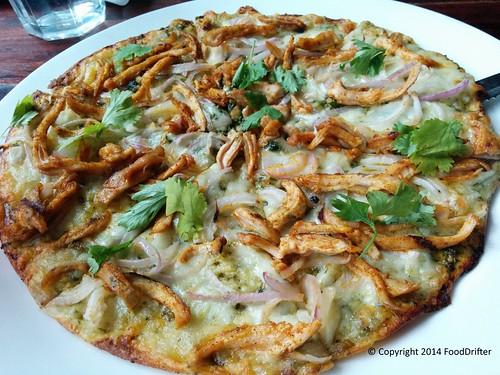 Chicken Carnitas Pizza