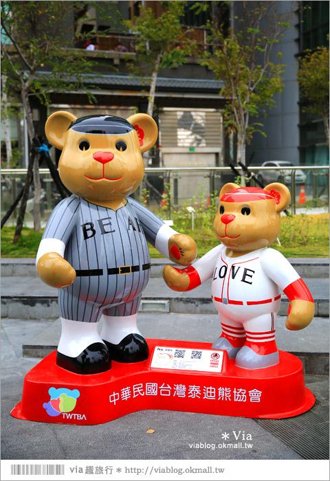 【台中泰迪熊草悟道】台中泰迪熊展2014地點(草悟道篇)~熊可愛‧親子熊超卡哇依!33