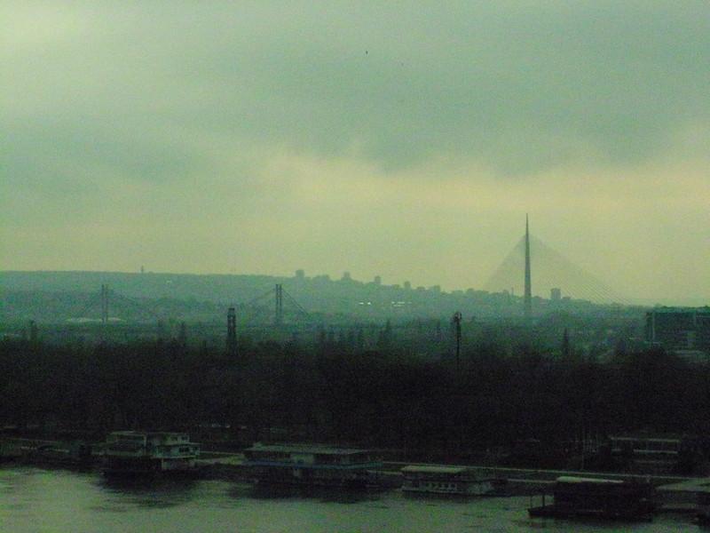 The Danube in Belgrade
