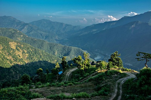 nepal mountain landscape