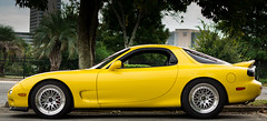 automobile, vehicle, automotive design, land vehicle, mazda rx-7, sports car,