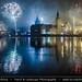 Czech Republic - Prague - Charles bridges over Vltava River & Lavka Towers at night during New Year's Firework display by © Lucie Debelkova / www.luciedebelkova.com