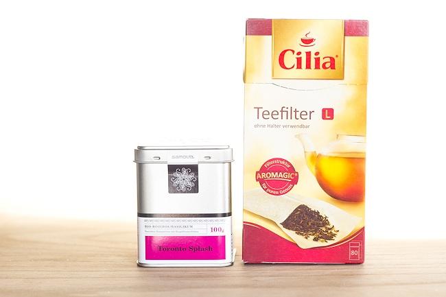 Degustabox, Cilia Teefilter