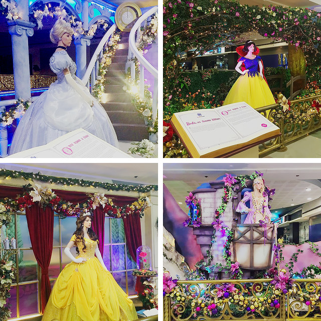 Barbie Princesses (Cinderella, Snow White, Belle and Rapunzel) at 2nd floor SM North City Center until Jan 4, 2015