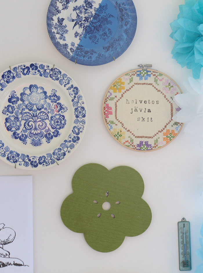 Colors of Our Home: Blue Plates