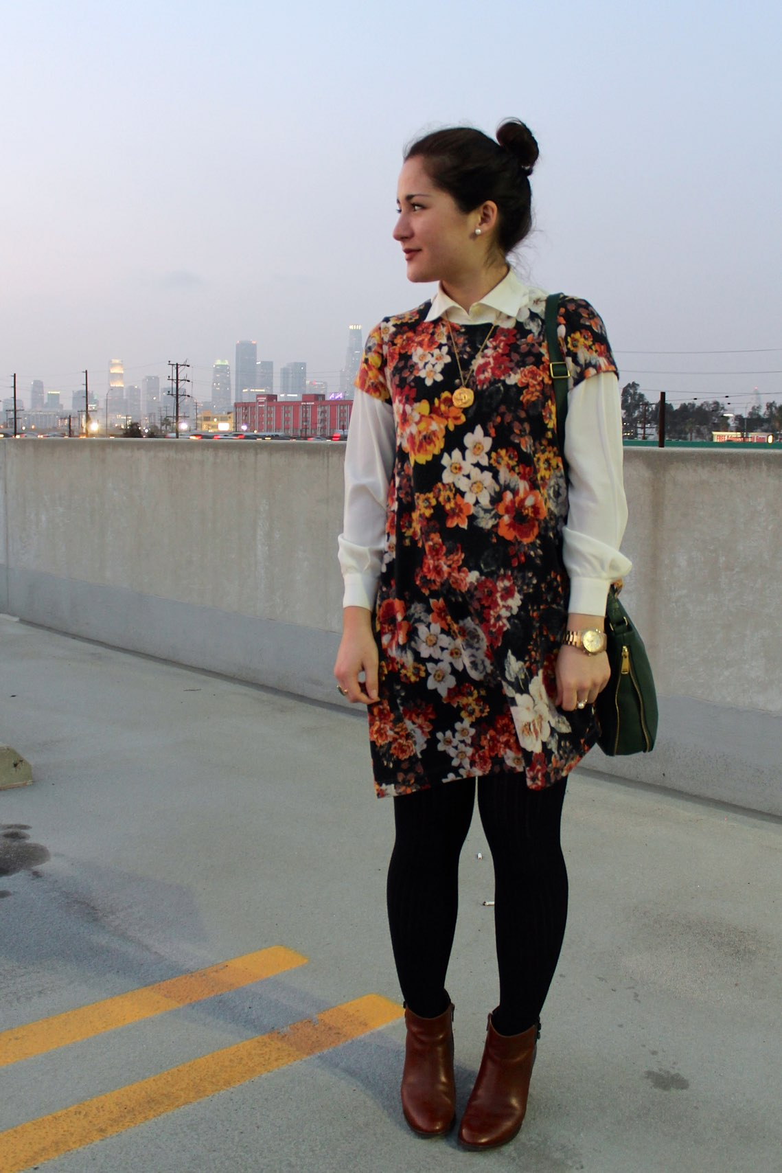 how to layer a dress #outfit #style #fashion