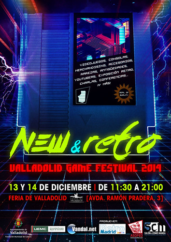 New & Retro Valladolid Game Festival 2014