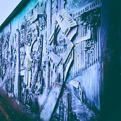 Bronze mural will be saved