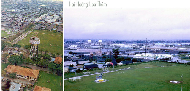 Trại Hoàng Hoa Thám - ARVN Airborne Parade Field - Photo by Paul Christensen 1969-70