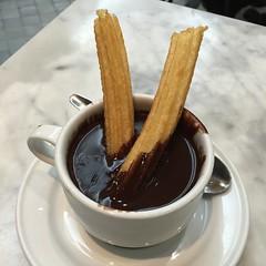 chocolate pudding, food, dish, dessert, chocolate, cuisine, snack food, churro,