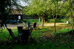 The Orchard at Grantchester in autumn