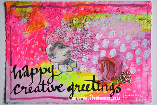 DIY Postcard: Happy Creative Greetings
