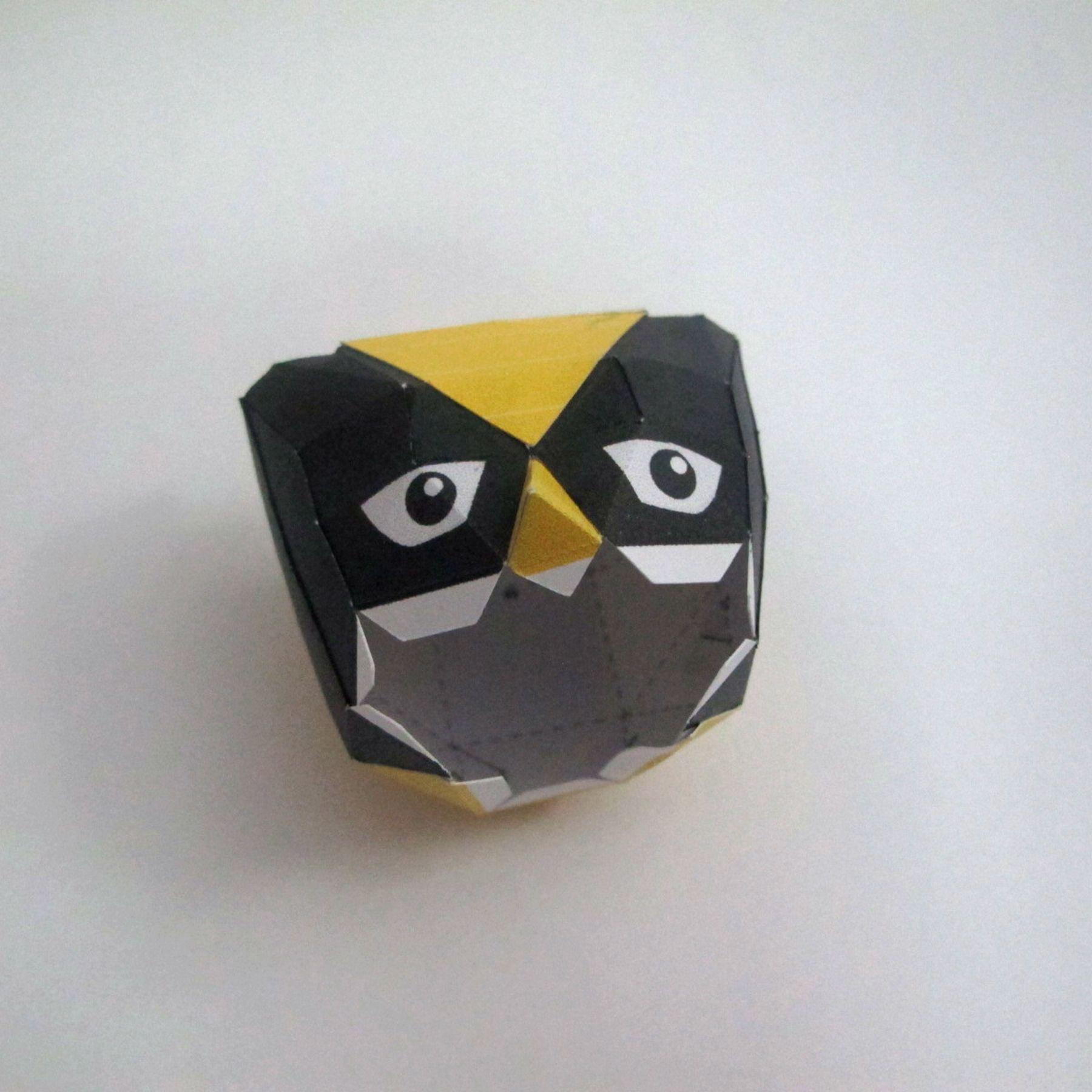 วิธีทำของเล่นโมเดลกระดาษ วูฟเวอรีน (Chibi Wolverine Papercraft Model) 017