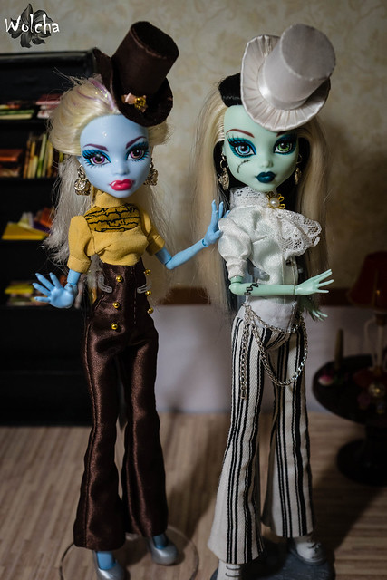 Monster High Abbey and Frankie