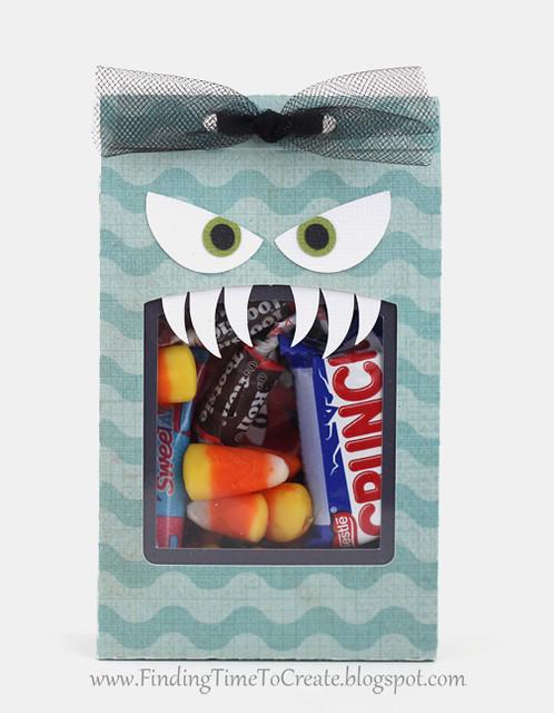 Monster treat bag - front