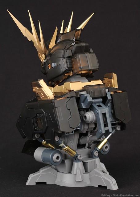 Seraph Hobby Banshee Bust - Straight Build 12