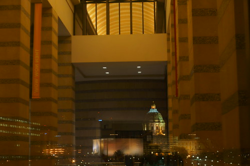 windows usa reflection window minnesota yellow cityscape cities hallway citylights dome windowview twincities saintpaul pillars artificiallighting reflectedlight statecapitols minnesotastatecapitol hww minoltamd50mmf17 sonynex5n windowwednesdays
