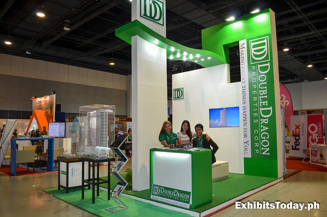 Double Dragon Properties Trade Show Booth