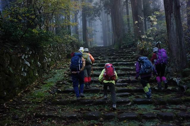 白山禅定道その2 白山神社から三頭山へ