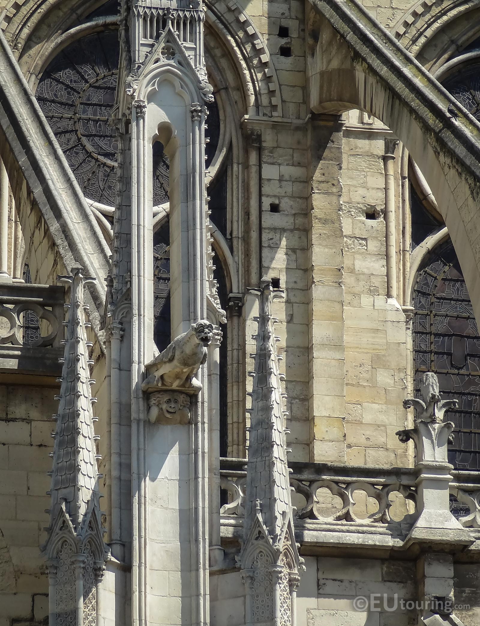 A gargoyle of Notre Dame