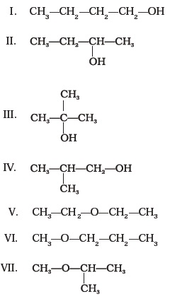 Class 11 Important Questions for Chemistry – Organic