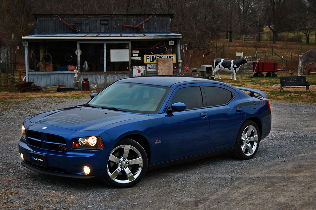 water blue which is pretty close i went with matte black hood and hip stripe graphics from promotorstripes on ebay i love how they look - Dodge Charger 2014 Dark Blue