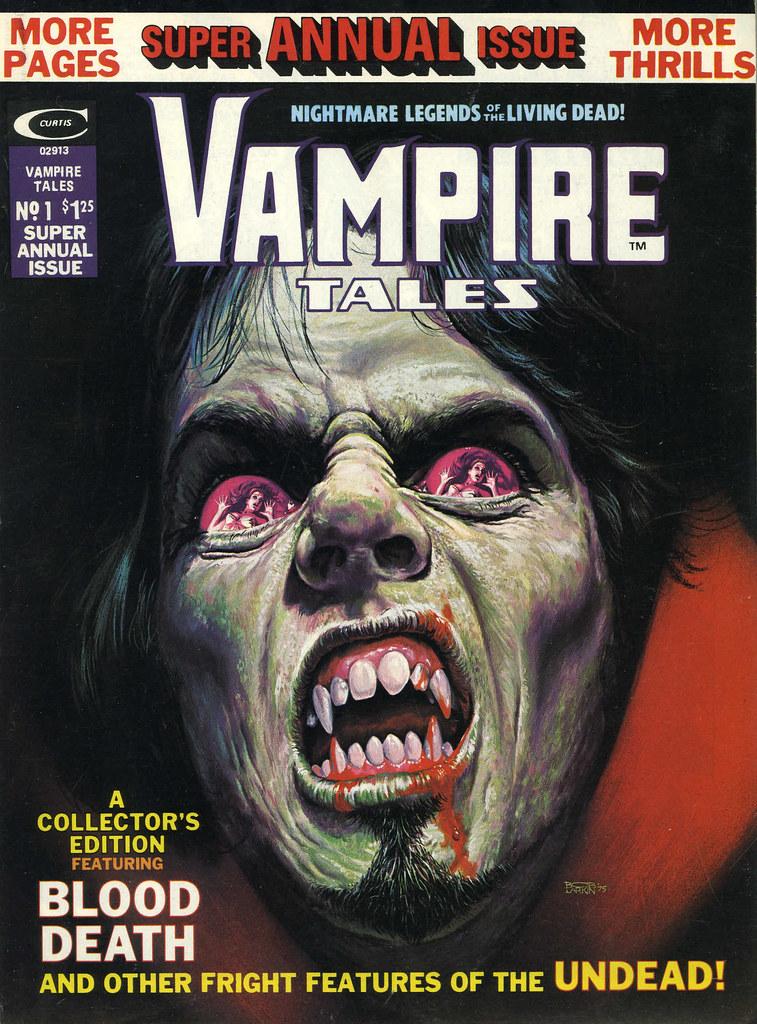 Bob Larkin - Vampire Tales Annual #1 (Marvel, 1975)