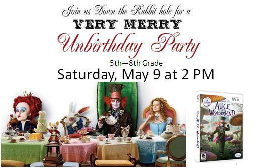 Un-Birthday Party