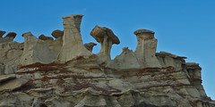 Bisti Badlands; New Mexico