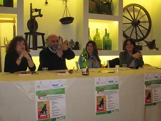 Da sinistra Paola Borracci, Gianni Capotorto, Gabriella Genisi e Antonella Rondinone