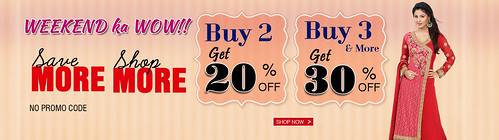 Get Great Discount- Online Shopping Saree, Lehenga, Salwar Kameez Suits