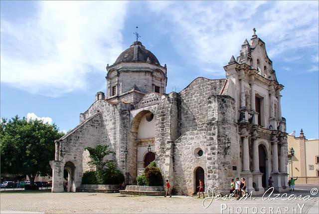La Habana (Cuba). Iglesia de San Francisco de Paula.