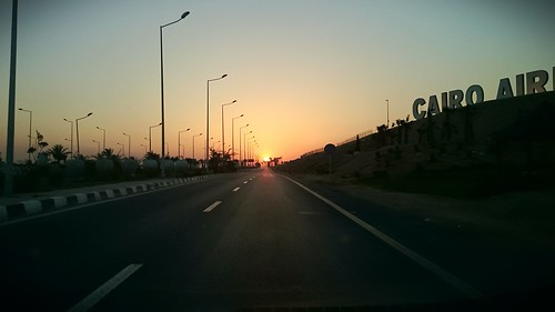sunset cairo