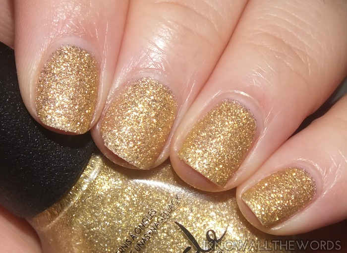 nicole by opi new shades- heart of gold