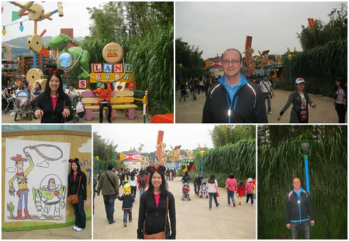 Toy Story Land in HK Disneyland
