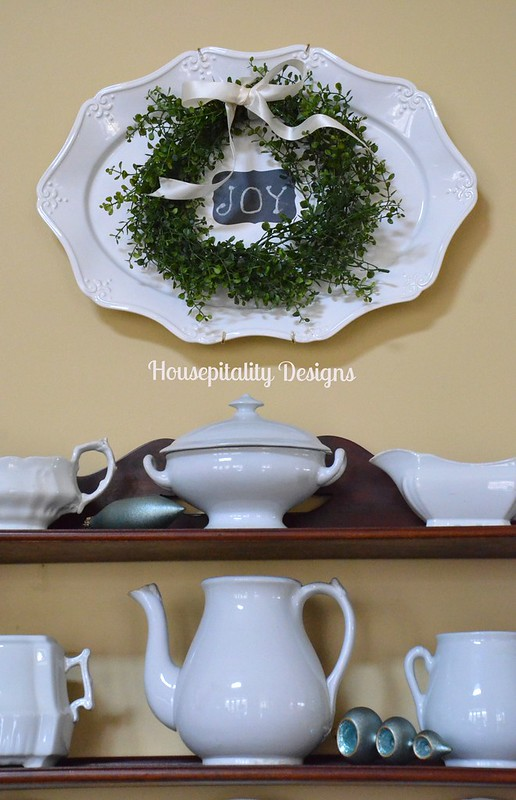 Christmas and ironstone-Housepitality Designs