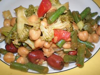 Aunt Bonnie's Chickpea Salad