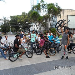 Check out the ORBIT BMX crew in Port of Spain